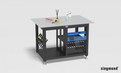 Siegmund Workstation inklusive Set