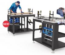 Siegmund Workstation inkl. Werkzeugaufnahmen