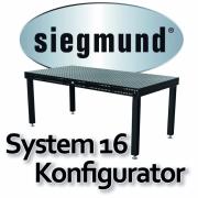 Konfigurator : Siegmund System 16 Professional Extreme 8.7 Plasmanitriert 50 mm Raster
