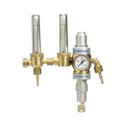 Druckminderer mit Schwebekörperanzeige zur Durchflussmessung und speziellem Durchflussmesser, inklusive Gassparvorrichtung  Optimator 2, sperrbar
