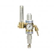 Einstufiger Druckminderer mit Schwebekörperanzeige zur Durchflussmessung und eingebauter Gassparvorrichtung  Optimator, sperrbar