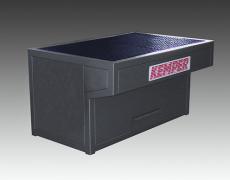 Ergonomisch angepasste, stabile Stahlblechkonstruktion   WT 1000