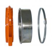 CM 160mm Verbindungsmaterial für die Befestigung einer Rohrleitu