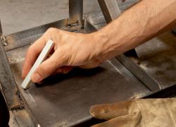 Specksteinkreide zum  Zeichnen auch auf heißen Metallen  Markal