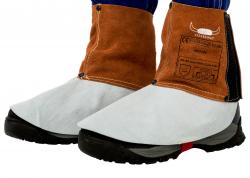 Bein- und Fußschutz mit Klettverschluss  Lava Brown 150mm