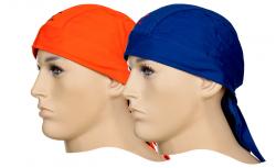 Schweißaufsaugendes Kopfband Größe: One size  Doo-Rag Orange