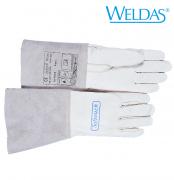 WIG-Schweißerhandschuh aus Kalbsvollleder mit verstärktem Daumen S - XXL  WIG Softtouch XL
