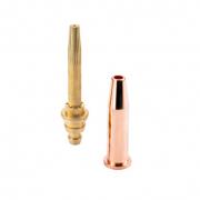 Gasemischende Schneiddüsen für Schneideinsätze und Handschneidbrenner 3 mm - 6 mm - 225 mm - 300 mm  PNME