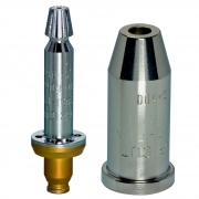 Blockdüsen für Schneideinsätze und Handschneidbrenner 3 mm - 7 mm - 250 mm - 300 mm  GRICUT 2280-PMY