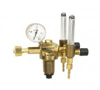 Einstufiger Druckminderer mit zwei Schwebekörperanzeigen zur Durchflussmessung Gasart: Argon / CO2  CONSTANT 2000 AR 2FD