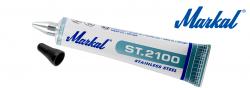 Metallkugel-Tubenschreiber für Edelstahl und andere Legierungsmetalle, bei denen es auf Korrosionsbeständigkeit ankommt  Markal ST.2100 3mm