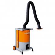 MaxiFil Clean 2 m Fahrbares Filtergerät für große Rauch- und Staubmengen sowie Chrom-Nickel-Stähle