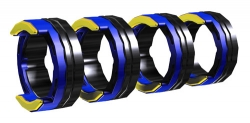 AL 4R 1.0 MM/0.04 INCH BLUE/YELLOW