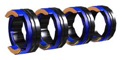 FUEL 4R 1.0 MM/0.04 INCH BLUE/ORANGE