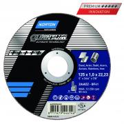 Trennscheibe für Stahl und Edelstahl  Norton Quantum 115 x 1.0 x