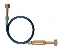 Flaschen-/Bündel-Anschlussschlauch für Sauerstoff und technische Gase mit geprüften Hochdruck-Rückschlagventilen nach EN 15615 für Betriebsdrücke von 200 bar  Flaschen-/ Bündel-Anschlussschlauch (200 bar)