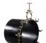 Einzelkettenspannsystem für das einfache Spannen von Rohr-an-Rohr, Rohr-an-Rohrbogen, Rohr-an-T-Stück oder Rohr-an-Flansch  12-24