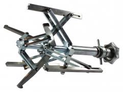 Manuelles Innenspannsystem, geeignet für das Spannen von Rohr-an-Flansch und Flansch-an-Bogen  IMF dm 56-115mm