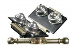 Kugel-& Rollenaufsätze für Rohrbock faltbar Edelstahlkugeln SSB