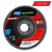 Fächerscheibe für Edelstahl und Stahl  Norton Neon R82B 115 x 22 K40