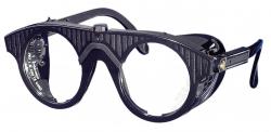 Nylonbrille, schwarz  Nylonbrille, farblos