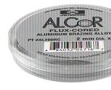 Aluminiumlot zum Löten von Aluminium und Aluminium-Legierungen (mit max. 1,5 Gew-% Magnesium-Anteil)  HARRIS ALCOR-Set (Zn98Al2)
